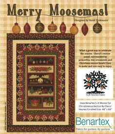 Merry Moosemas - A Moose for Christmas Kit on sale for $55!!!!