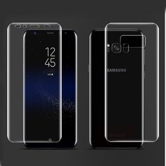 For Samsung Galaxy Note 8 S7 Edge S6 Edge S8 Plus Screen Protector PET Film Full Cover (Not Tempered Glass) 3D Curved Round Edge