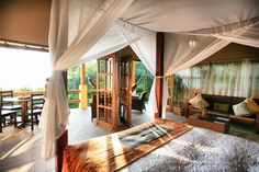 Imagine waking up in this beautiful villa while on vacation in Santa Teresa, Costa Rica. Only at Hotel Casa Chameleon.