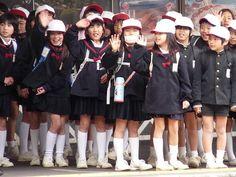 Nice Japanese pupils