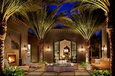 Casbah Cove is a luxury designed Moroccan riad by Gordon Stein Design, nestled in Palm Desert, California's most upscale gated community, Bighorn Golf Club. Moroccan Design, Moroccan Style, Moroccan Theme, Moroccan Art, Moroccan Bedroom, Beautiful Houses Interior, Beautiful Homes, Interior Exterior, Exterior Design