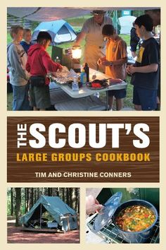 Like The Scout's Outdoor Cookbook, this new cookbook will bring together outdoor recipes, cooking methods, and tips for a Scout-friendly cooking experience.