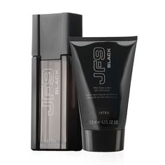 JF9 Black Duo for men.  www.jafra.com/beautifulessence