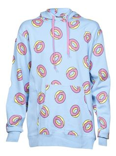 ODD FUTURE - all over pattern hoodie 6