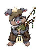 Bagpipe Thumper by ~AmyCrane on deviantART
