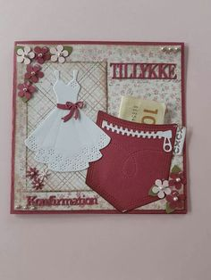 Pocket Cards, Kids Cards, Birthday Cards, Projects To Try, Card Making, Frame, How To Make, Crafts, Scrapbooking