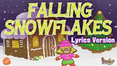 Falling Snowflakes - Winter Counting Song for Children with Patty Shukla...