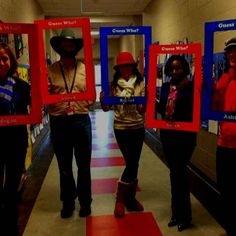 Guess Who! | 31 Amazing Teacher Halloween Costumes