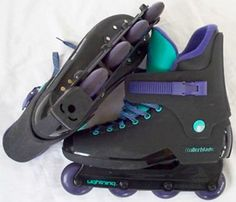 1990's Roller-blades became the rage.