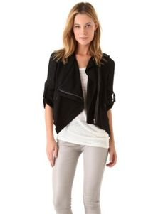 Helmut Lang Jacket with Leather...