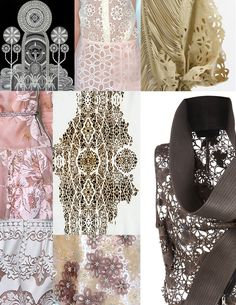 Laser Cut Fabric from Mannequinz.
