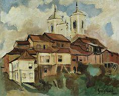 Ouro Preto - Alberto da Veiga Guignard - 1941