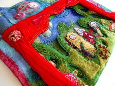 THE FABRIC OF MEDITATION - SARA LECHNER'S BLOG: Paper Theatre Challenge - finished!