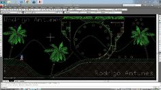My art in AutoCad