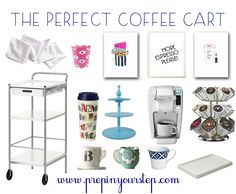 The Perfect Coffee Cart
