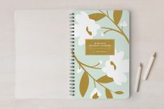 English Countryside Day #Planner #Notebook or  #AddressBook #floral #pastel