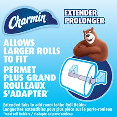 Coupons et Circulaires: GRATUIT : CHARMIN - Extension de Rouleau