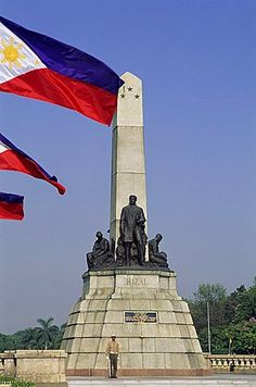 """High Quality Stock Photos of """"philippines"""" Rizal Park, Jose Rizal, Philippine Holidays, Manila Philippines, Pinoy, Southeast Asia, Statue Of Liberty, Around The Worlds, Memories"""