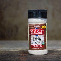 Real Salt Organic Garlic Salt