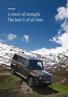 Whether you're heading off-road in the mountains or just cruising the city streets, the Mercedes-Benz G-Class is exactly what you've been looking for—it will fit any adventurous lifestyle perfectly.
