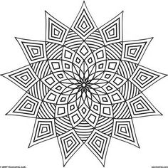 Image detail for -Free Printable Adult Coloring Pages - Geometric Coloring Pages