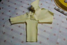 Nenca - zberateľské barbie a tvorba: Žlté sako - postup Heidi Klum, Barbie Clothes, Barbie Collection, Patrones, Dressmaking