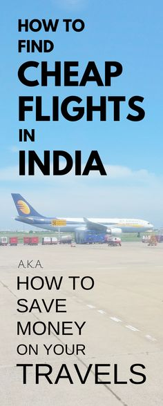 India Travel Tips, Asia: How to book cheap flights in India. For weeks long backpacking Asia. Go for plane tickets instead of train using booking site for travel hacking. Find best time to fly. Things to do in India even if on budget. Put on checklist alo Cheap Domestic Flights, Budget Travel, Travel Ideas, Travel Hacks, Travel Essentials, Travel Guide, Travel Inspiration, Book Cheap Flights, Long Flights