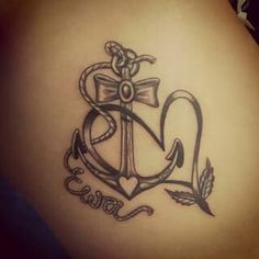 Irish Tattoos, Dad Tattoos, Neue Tattoos, Sister Tattoos, Future Tattoos, Body Art Tattoos, I Tattoo, Anker Tattoo, Anchor Tattoos