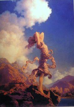 Ecstasy by Maxfield Parrish