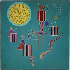 Intime message, 1942, Wassily Kandinsky