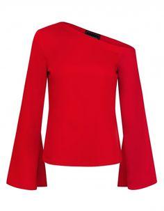 Bluzka Maya Leimann Bell Sleeves, Bell Sleeve Top, Maya, Blouse, Long Sleeve, Model, Tops, Fashion, Blouse Band