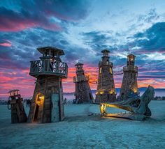 #blackrocklighthouseservice at #burningman #burningman2016 #lighthouse #sunset #sunrise