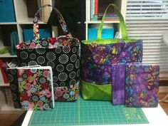 Market Totes & Fabric Notebooks - PURSES, BAGS, WALLETS  - Knitting, sewing, crochet, tutorials, children crafts, jewlery, needlework, swaps, papercrafts, cooking and so much more on Craftster.org