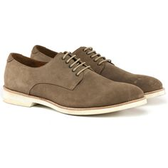 Lace Up Shoe Men's Taupe