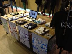 Last Sunday: At The Creative Collective Showcase [London] holding our first official Pop up stall!