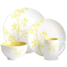 Sunny Branch Dinnerware--waiting for this mug to go on sale. It would look great with black coffee in it.