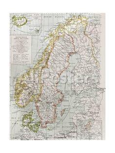 Carte de lIslande  Islande Iceland  Pinterest