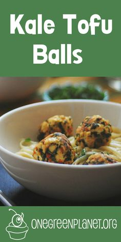 Kale Tofu Balls