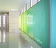 AVA MD Medical Spa Brand Identity & EGD by VISUAL ASYLUM, via Behance