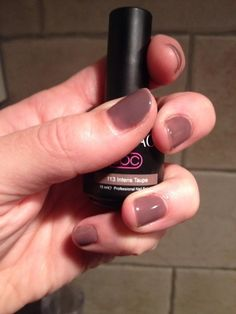 Pink Beauty Club shared Yvonne Willemse's photo. 2 lagen intense taupe nr 113