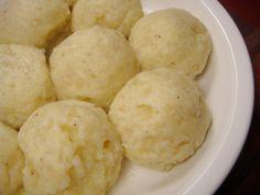 Kartoffelkloesse (german Potato Dumplings)