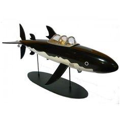 Maqueta Submarino Tiburón Tintín / Moulinsart - Hergé