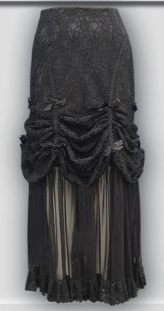 Dare Gothic Clothing - Skirt Koko by Laughing Vampire