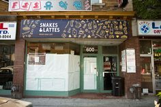 Snakes & Lattes: A new board gaming coffee shop in Toronto. No computers allowed, just hundreds of board games to check out and play. They're even getting a liquor license. I don't think I'd ever leave.