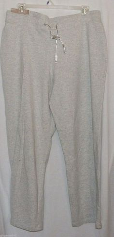 Gray Sweat Pants Size 2X 20  Pants New White Stag  #WhiteStag #CasualPants