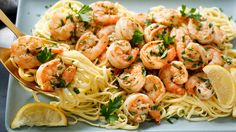 Scampi are tiny, lobster-like crustaceans with pale pink shells (also called langoustines) Italian cooks in the United States swapped shrimp for scampi, but kept both names Thus the dish was born, along with inevitable variations