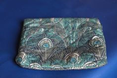 Liberty of London Make Up Bag, Gorgeous Vintage Gift. Zip Up Feather Pattern, Liberty Of London, Arts And Crafts Movement, Classic Elegance, Vintage Gifts, Fabric Patterns, Thoughtful Gifts, Cosmetic Bag, Make Up