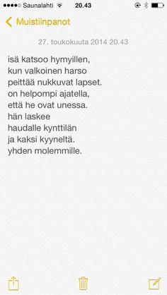 päivän runo 26.5.2014