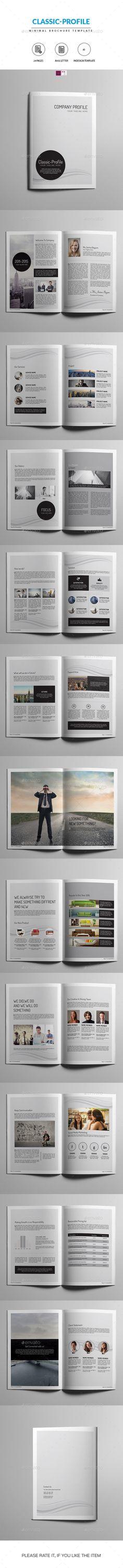Minimal Corporate Brochure-Indesign Tempalte #design Download: http://graphicriver.net/item/minimal-corporate-brochureindesign-template/12934210?ref=ksioks