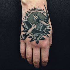Jordan Baxter as featured on Swallows & Daggers. www.swallowsndaggers.net #tattoo #tattoos #bird